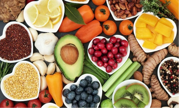 A picture containing food, plate, fruit, bowl  Description automatically generated